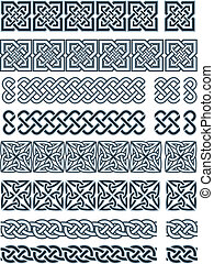 design in Celtic - Elements of design in Celtic style in a...