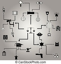design., infographic, テンプレート, 法律