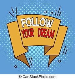 design., irregolare, oggetto, modellato, testo, seguire, dream., mete, formato, vivere, volere, concetto affari, scrittura, parola, tuo, modello, pista, custodire, asimmetrico, contorno, multicolour, essere, lei, vita