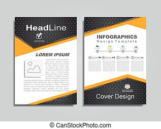 Design layout with place for your data. Vector illustration...