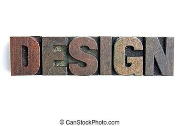 Design letterpress blocks