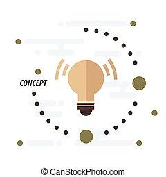 design light concept  brown