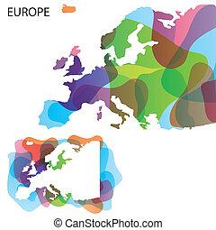 Design Map of Europe