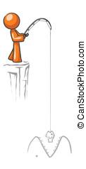 Design Mascot Big Fish - A design Mascot Fishing. Based on...