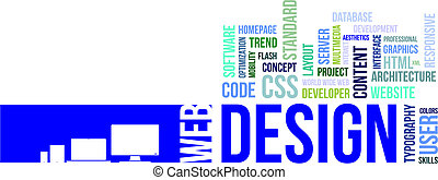 design, -, mračno, vzkaz, pavučina