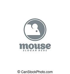 design., mus, illustration, vektor, ikon, logo.