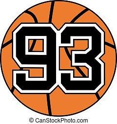 93 basket symbol