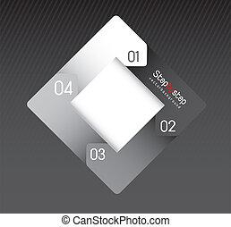 Design of advertisement numbers