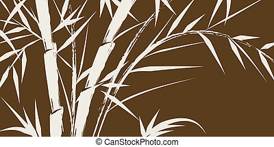 design of chinese bamboo trees