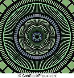 circles art background