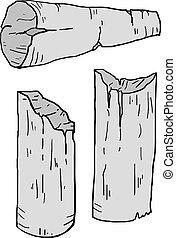 columns ruin illustration