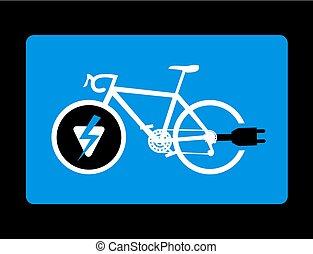 electric bike figure