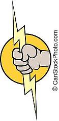 electric energy symbol