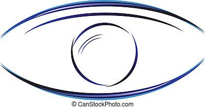 design of eye