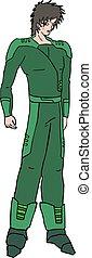 future military character