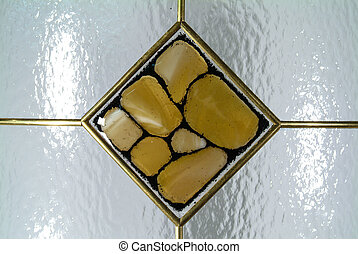 design of glass tiles for kitchen and bathroom