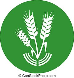 green agriculture icon