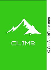 green climb icon