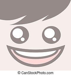 happy boy face