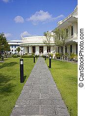 Design of home garden area