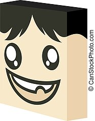 joke funny face illustration