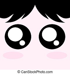 kawaii adorable face