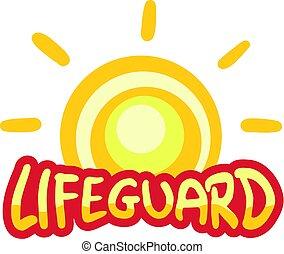 lifeguard symbol art