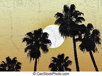 Oasis desert sun - design of Oasis desert sun