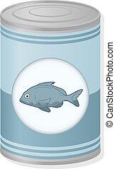 sardine food can