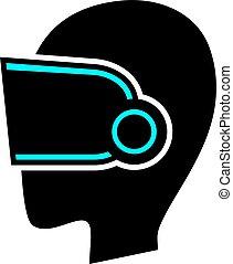 virtual reality symbol design
