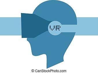VR face icon