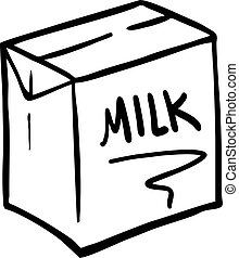 white milk box