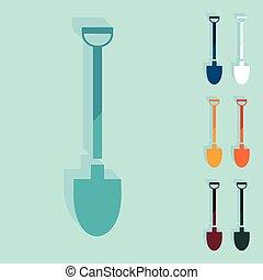 design:, plat, schop