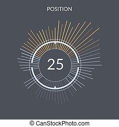 Design power position cars accelerometer
