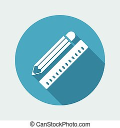 Design project flat icon