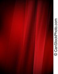 design, röd fond