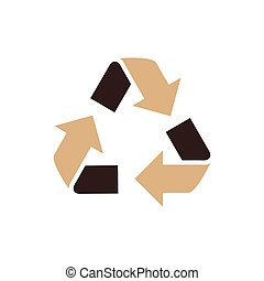 design Refresh Icon brown color