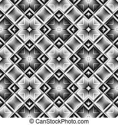 Design seamless diamond pattern
