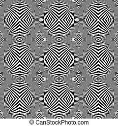 Design seamless monochrome convex lines background