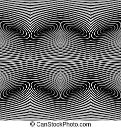 Design seamless monochrome lines background