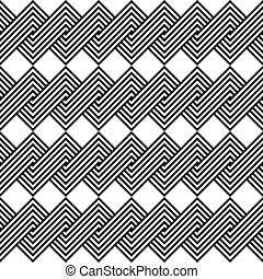 Design seamless monochrome spiral twisted pattern