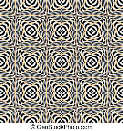 Design seamless rhombus lattice pattern. Abstract geometric monochrome background. Speckled texture. Vector art