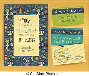 Design set for yoga class