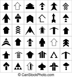 Design set of arrow