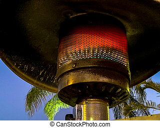 Design stainless steel metal outdoor restaurant gas patio heater