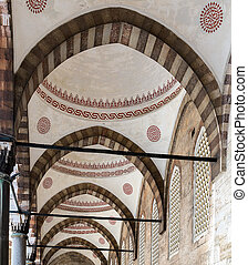 design Sultanahmet Mosque in Istanbul, Turkey - Interior...