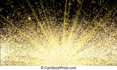 Design template - closeup view of burning sparkler.