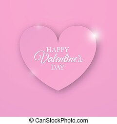 Heart for Valentines Day Background