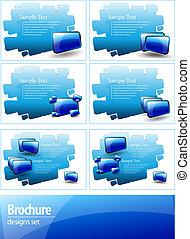 design template for your presentation or brochure