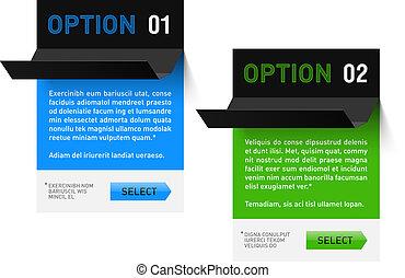 Design template - Fully editable vector